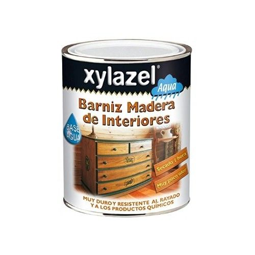 BARNIZ XYLAZEL SATINADO AL AGUA - 750ML - INCOLORO - INTERIOR