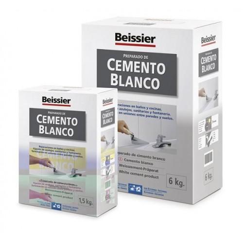 CEMENTO BLANCO BEISSIER - 1,5K - 619