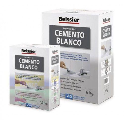 CEMENTO BLANCO BEISSIER - 6K - 3616