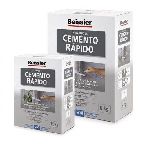 CEMENTO RAPIDO BEISSIER - 1,5K - 621