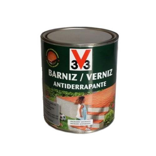 BARNIZ ANTIDERRAPANTE V33 - INCOLORO SATINADO - 750ML - 44885