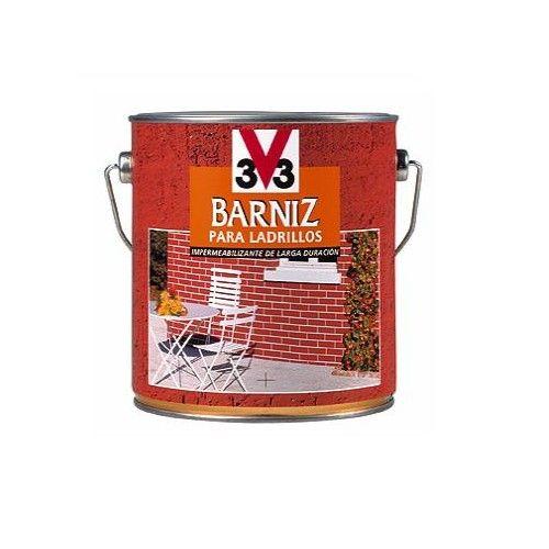 BARNIZ LADRILLO V33  - INCOLORO MATE - 750ML  - 006862