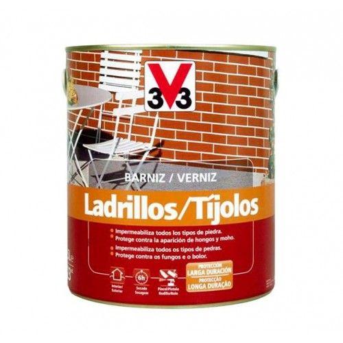 BARNIZ LADRILLO V33 - INCOLORO BRILLO - 750ML - 006860