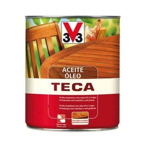 ACEITE PARA TECA V33 - INCOLORO - 750ML - 057032