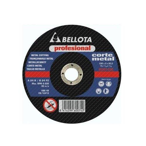 DISCO CORTE AMOLADORA - METAL 125X3X22,2 - 50.341