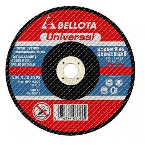 DISCO CORTE AMOLADORA - METAL 230X3X22,2 - 50.346