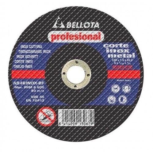 DISCO CORTE AMOLADORA - METAL INOX. 115X1X22,2 - 50.336