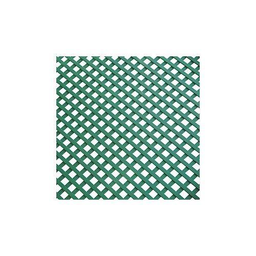 CELOSIA PLASTICO VERDE - 1X2 METROS HUECO DE 18MM - 43018