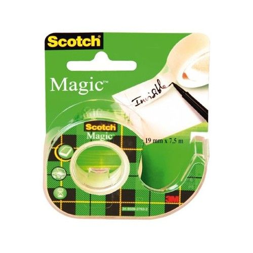 CINTA MAGICA SCOTCH - 19MMX7.5MTRS. - CON DISPENSADOR - 8-1975D