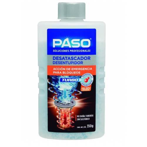 DESATASCADOR PASO - TURBO 5 DOSIS - 350GRAMOS