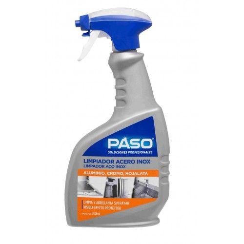 LIMPIADOR POTENTE PASO - 500ML ACERO INOX