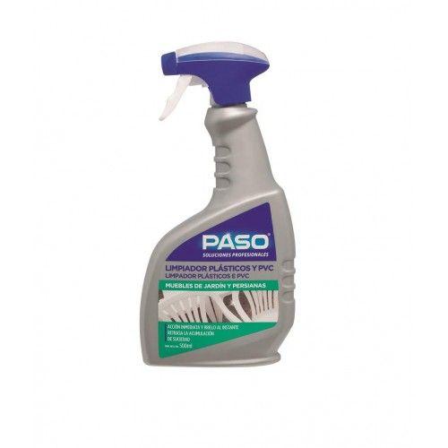 LIMPIADOR POTENTE PASO - 500ML PLASTICOS Y PVC