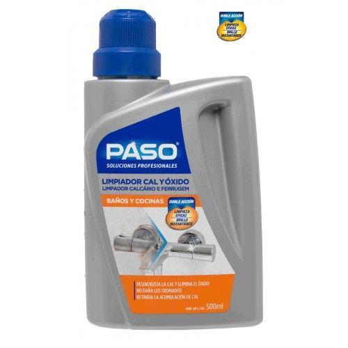 LIMPIADOR PROFESIONAL PASO - 500ML CAL Y OXIDO