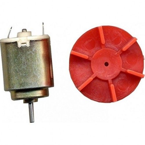MOTOR MANUALIDADES  - 1.5 A 4.5V CON HELICE REF.991