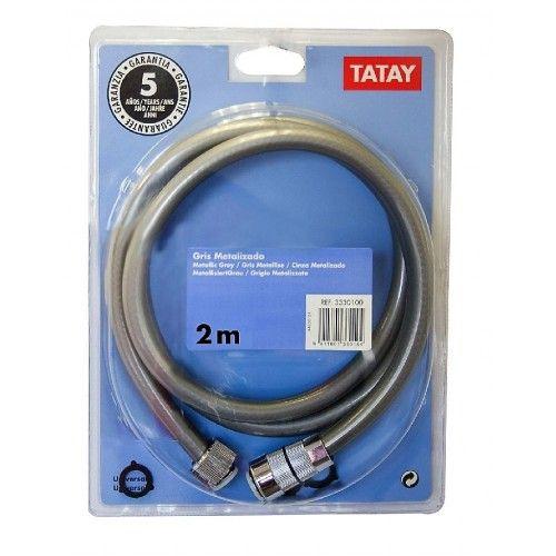 FLEXO DUCHA TATAY - PVC REFORZADO 2.00 METROS