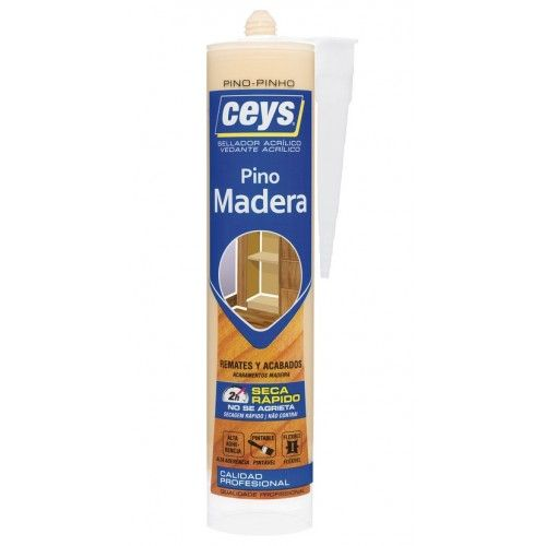SELLADOR MADERA CEYS  - PINO - CARTUCHO 280ML