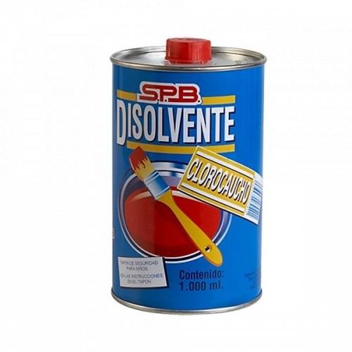 DISOLVENTE CLOROCAUCHO MPL - 1L-ENVASE METAL