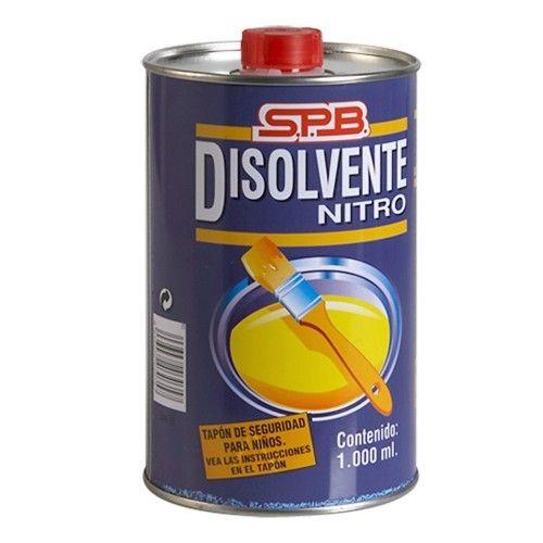 DISOLVENTE NITRO MPL - 1L-ENVASE METAL