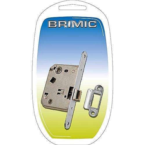 CERRADURA UNIFICADA BRIMIC - 47MM - INOXIDABLE - REDONDA