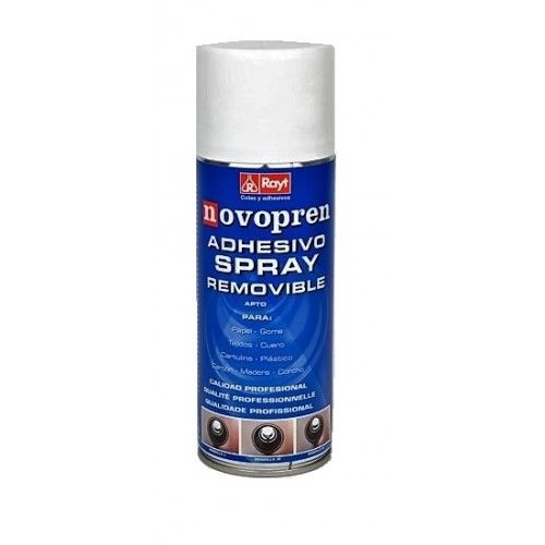 ADHESIVO NOVOPREN SPRAY - 400ML - REMOVIBLE