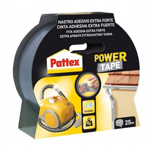 CINTA POWER TAPE - 25 METROS-GRIS