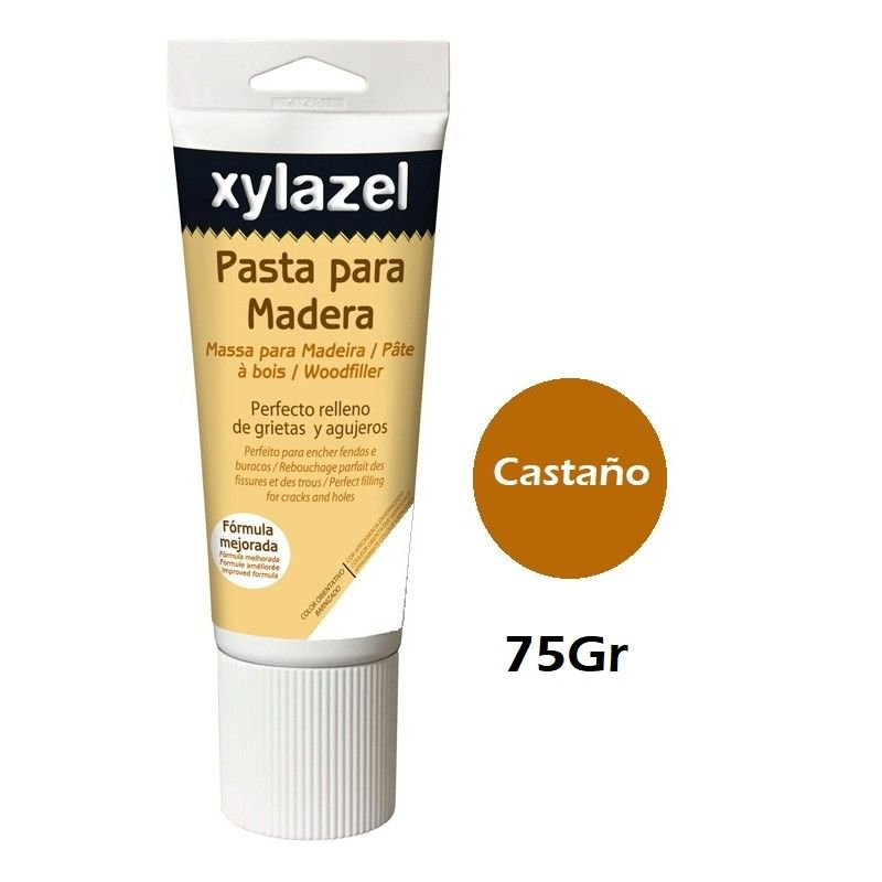 PASTA PARA MADERA XYLAZEL - 075GRAMOS - CASTAÑO