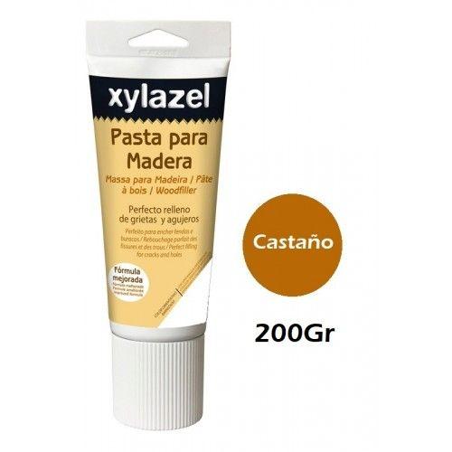 PASTA PARA MADERA XYLAZEL - 200GRAMOS - CASTAÑO