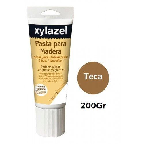 PASTA PARA MADERA XYLAZEL - 200GRAMOS - TECA