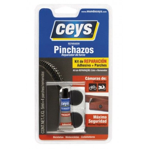 REPARADOR PINCHAZOS CEYS - 5ML + 4 PARCHES