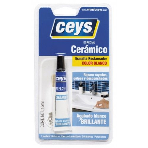 RESTAURADOR CERAMICO CEYS - BLANCO 15ML-BLISTER