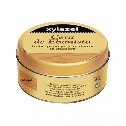 CERA EBANISTA XYLAZEL - 250ML - NOGAL