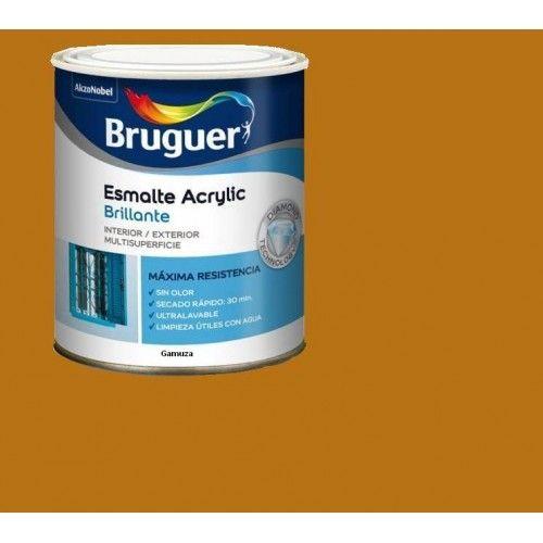 ESMALTE ACRILICO BRILLO BRUGUER - 1031 GAMUZA-750ML