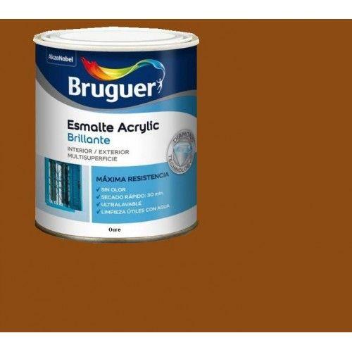 ESMALTE ACRILICO BRILLO BRUGUER - 1032 OCRE - 250 ML
