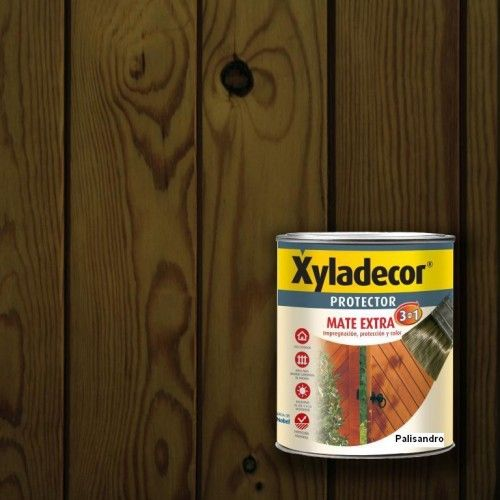 XYLADECOR PROTECTOR MATE 3 EN 1 - PALISANDRO 375ML