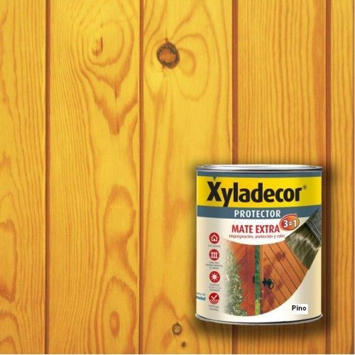XYLADECOR PROTECTOR MATE 3 EN 1 - PINO 750ML