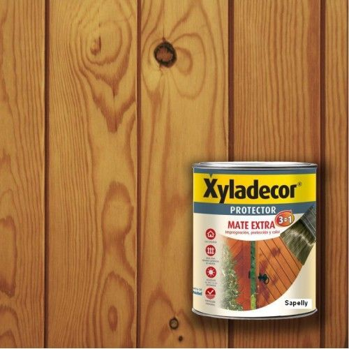 XYLADECOR PROTECTOR MATE 3 EN 1 - SAPELLY 750ML