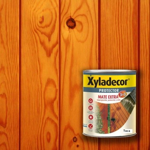 XYLADECOR PROTECTOR MATE 3 EN 1 - TECA 375ML