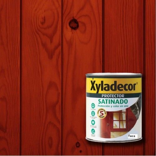 XYLADECOR PROTECTOR MAX SATINADO - TECA 750ML