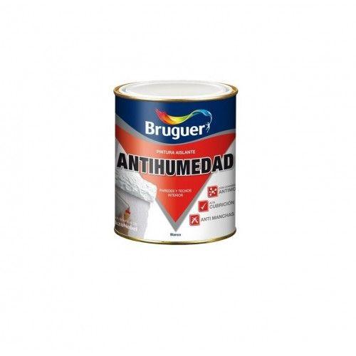 PINTURA ANTIHUMEDAD BRUGUER - 4L BLANCO MATE