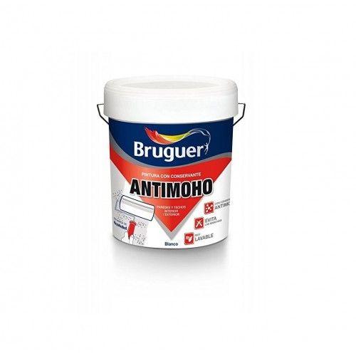 PINTURA ANTIMOHO BRUGUER - 4L BLANCO MATE