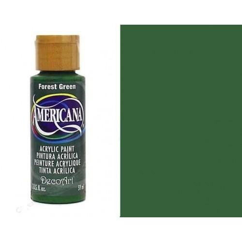 AMERICANA ACRILICO MATE 60CC DA050 - FOREST GREEN