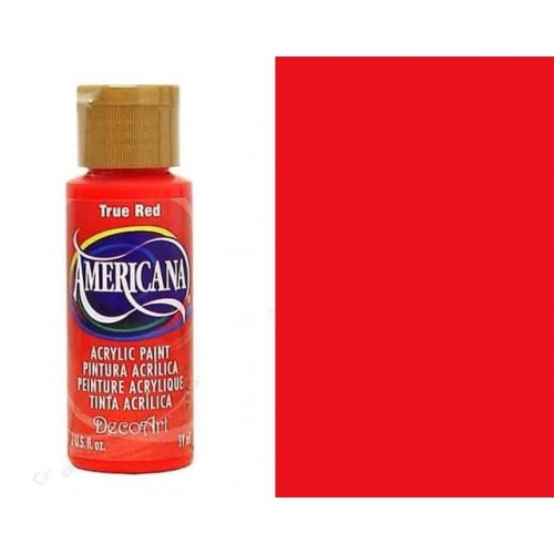 AMERICANA ACRILICO MATE 60CC DA129  - TRUE RED