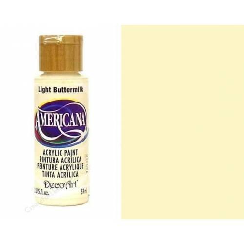 AMERICANA ACRILICO MATE 60CC DA164 - LIGHT BUTTERMILK