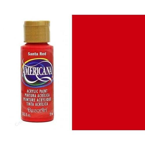 AMERICANA ACRILICO MATE 60CC DA170 - SANTA RED