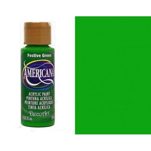 AMERICANA ACRILICO MATE 60CC DA230 - FESTIVE GREEN