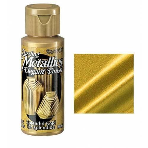 AMERICANA DAZZLING METALLICS 60CC DA263 - SPLENDID GOLD