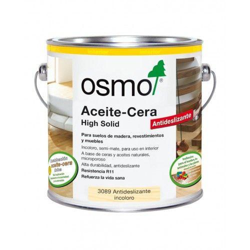 OSMO ACEITE CERA ANTI-SLIP R11 - 3089 INCOLORO MATE - 2.5L