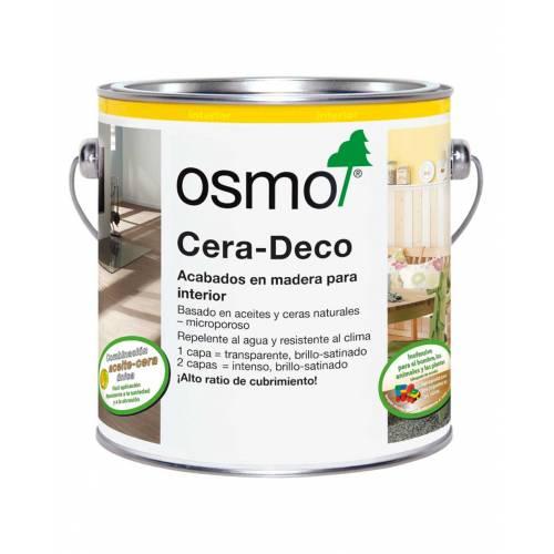 OSMO CERA DECO INTERIOR - 3131 VERDE MENTA INTENSO - 0.375 L
