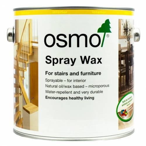 OSMO CERA INTERIOR SPRAY - 3066 BLANCO TRANSPARENTE - 2.5L