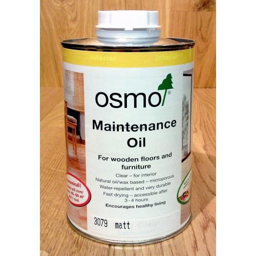 OSMO ACEITE MANTENIMIENTO INTERIOR - 3079 INCOLORO MATE - 1L
